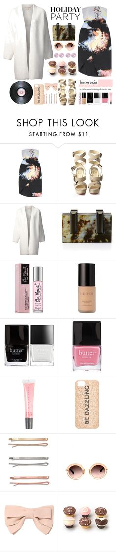 """""""Ready for party"""" by teoecar ❤ liked on Polyvore featuring Mary Katrantzou, Christian Louboutin, Vanessa Bruno, Rauwolf, Butter London, MAKE UP STORE, Kate Spade, Madewell, Miu Miu and RED Valentino"""