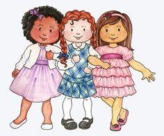 susan fitch design: Primary Kids Clip Art