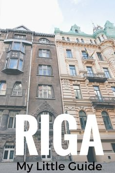 My Little Guide to Riga  I bet you have seen photos of Riga's Old Town on Pinterest.  I had, and that's why I wanted to go, explore, and now share with you my little guide to Riga. It was on the bucket list! Riga is the capital of Latvia. This post shares all the basic tips for Riga + my favorites restaurants and shops in Riga!