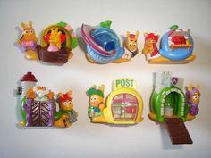 Kinder Surprise Set Snails with Houses Neues Schneckendorf 1998 Figures | eBay