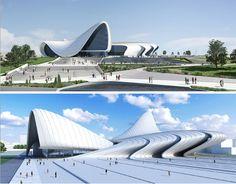 Progetto Opera House e Centro culturale by Zaha Hadid architects - Dubai City