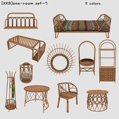 Mod Furniture, Sims 4 Cc Furniture, Sims 4 Beds, The Sims 4 Packs, Muebles Sims 4 Cc, Sims 4 Bedroom, Sims 4 Clutter, Sims 4 House Design, Sims 4 Gameplay
