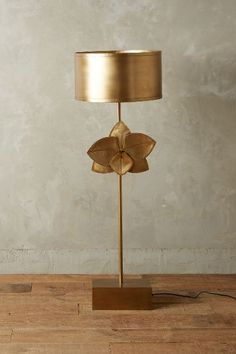 Bronzed Leaflet Floor Lamp - anthropologie.com #anthroregistry