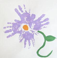 itmom: Handprint Flowers