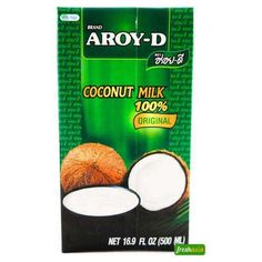 Aroy-D Coconut Milk. Keto approved product