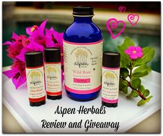 Aspen Herbals is a small family owned and operated company that offers natural, handmade luxuries for the face and body. Learn more and enter the giveaway to win!