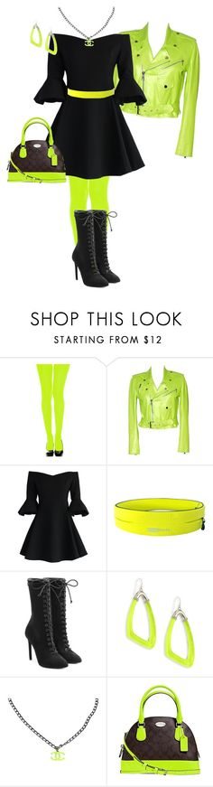 """Untitled #1502"" by pholtond on Polyvore featuring Ralph Lauren, Chicwish, adidas Originals, Alexis Bittar, Chanel and Coach"