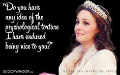 35 Witty, Sarcastic And Deep Quotes By Blair Waldorf That Every Girl Needs In Her Life