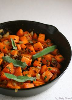 Sweet Potato Hashed Browns with Sage, from My Daily Morsel (Sage would need to be delayed until Phase 6)