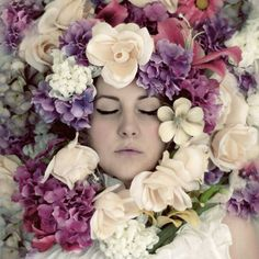a flower maiden