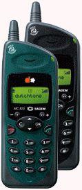 My first mobile: Dutchtone Sagem MC820