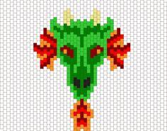 Dragon1 by Ditsie87 on Kandi Patterns
