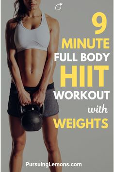 We all know that HIIT (High-intensity interval training) is an awesome fat-burning workout. But, what's better is to do HIIT workout with weights. Hiit Elliptical, Hiit Workout Videos, Hiit Abs, Full Body Hiit Workout, Hiit Workout At Home, Cardio Hiit, Treadmill Workouts, Bum Workout, Muscle Workouts
