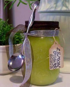 Lemon-Sugar-Hand-Scrub #LemonSaltScrubRecipe