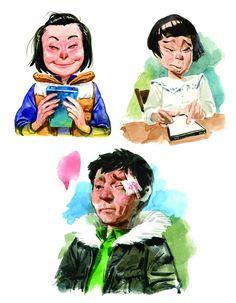 Kim Jung Gi 2013 Sketch Collection