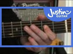 Easy Acoustic Solo Blues Lesson: Slow Playalong #3of3 (Guitar Lesson PR-001) How to play - YouTube