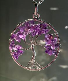 New! Chakra Tree of Life wire wrap Pendants!