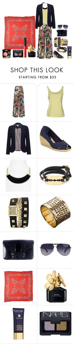 """Rocking Navy"" by nathalie-puex ❤ liked on Polyvore featuring Alice + Olivia, Balenciaga, Monsoon, Lauren Ralph Lauren, Kenneth Jay Lane, McQ by Alexander McQueen, Vince Camuto, THORAVAL, Vanessa Bruno and Giorgio Armani"
