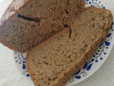 Vegatár Konyha: Csapassuk a kenyérsütést: zabpelyhes-magvas rozske... Banana Bread, Food, Essen, Meals, Yemek, Eten