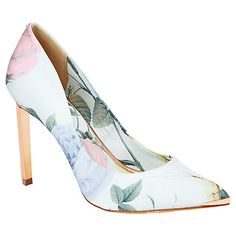 Buy Ted Baker Adecyn High Heeled Stiletto Court Shoes Online at johnlewis.com