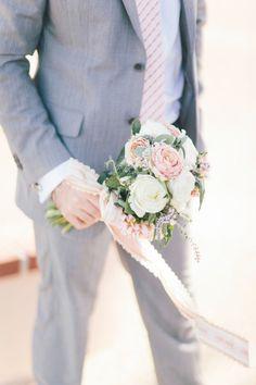 Fun bouquet: http://www.stylemepretty.com/california-weddings/2015/03/02/romantic-napa-valley-wedding/   Photography: Glass Jar - http://glassjarphotography.com/