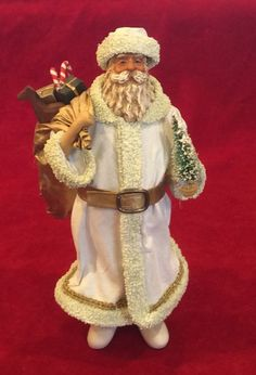 RARE 1987 CLOTHIQUE POSSIBLE DREAMS DEPT 56 FATHER CHRISTMAS SANTA CLAUS  #CLOTHIQUEBYPOSSIBLEDREAMSLTDDEPARTMENT56