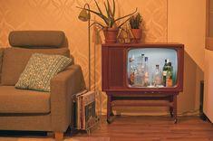 DIY tv retro cabinet liqueur