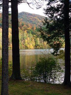 Fall 2014 at Lake Logan. Taken by my Dad Todd Donatelli on a clergy staff retreat.