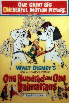 *101 DALMATIANS, 1961,Vintage Disney Posters