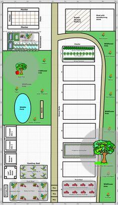 Garden Plan - 2012: Gateway to Nature - St Anns Framework Allotment