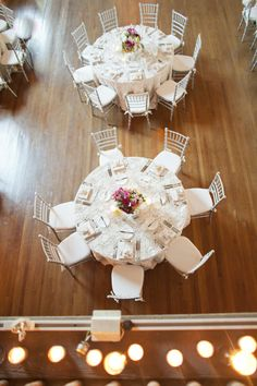 White chivari chairs...would look amazing in your venue!
