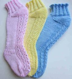 Impeccable Knits--Luise O'Neill--Over-The-Knee Baby Stocking-Socks