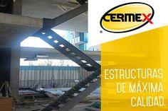 Cermex ofrece el diseño fabricación y montaje de estructuras metálicas ligeras y semi-pesadas atendiendo al mercado comercial e industrial con servicio y materiales de la más alta calidad. #EstructurasMetalicas #Techos #Muros #Fachadas#Elevadores #Puentes - #EscalerasMetalicas #Barandales#EstructurasMetalicasEnMonterrey