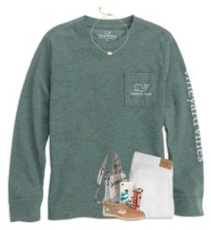 """""""sunny sunday """" by ellienoonan ❤ liked on Polyvore featuring Abercrombie & Fitch, Patagonia, Sonix, Kendra Scott and Sperry"""