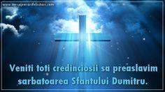 Veniti toti credinciosii sa preaslavim sarbatoarea Sfantului Dumitru