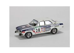 Trofeu 1:43 Ford Escort Diecast Model Car RRAL04 This Ford Escort Mk I RS2000 (Giovanni Salvi - Rally Portugal 1977) Diecast Model Car is White and has working wheels and also comes in a display case. It is made by Trofeu and is 1:43 scale (approx. 9cm / 3.5in long).  #Trofeu #ModelCar #Ford #MiniModelRaceCars