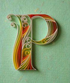 """Paper + Typography"" by Sabeena Karnik / design-dautore.com"