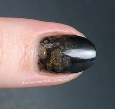The Nail Smith: Black Opals