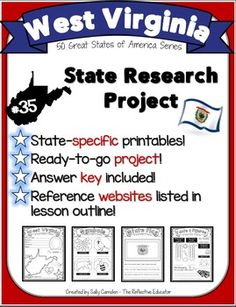State Research Project: West Virginia by The Reflective Educator