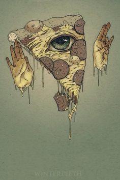 Pizza eye