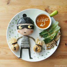 Samantha Lee verwandelt Kindermahlzeiten in Kunstwerke « detailverliebt.de