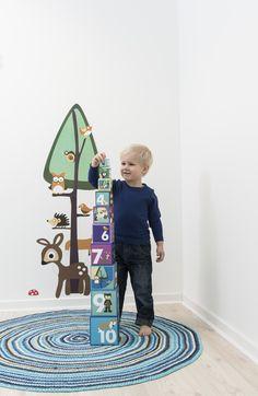 Sebra Gehaakt Vloerkleed rond (120 cm) multi boy