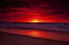 Australia is one of the first countries to have their sunrise each day.