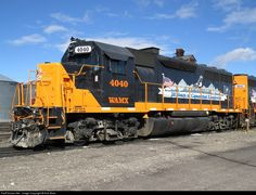RailPictures.Net Photo: WAMX 4040 Eastern Idaho Railroad EMD GP40-3 at Rupert, Idaho by Rob Boes