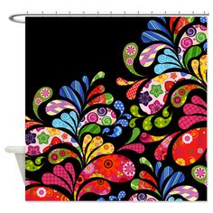 Colorful Paisley Med
