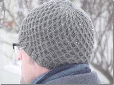 I love this cable knit hat