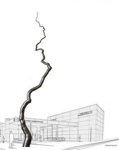 Dramatic Roxy Paine Sculpture Coming To 4th Street Central Subway Station Read more: http://amiechilson.com/2013/04/dramatic-roxy-paine-sculpture-coming-to-4th-street-central-subway-station/