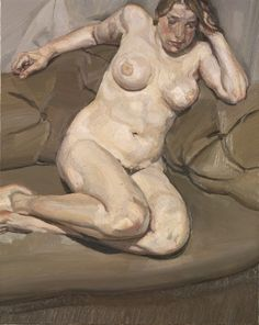Lucian Freud The Painter's Daughter lb 1977-1978 Oil on canvas, 40.6 x 30.5 cm