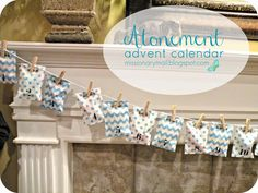 Missionary Mail: Atonement Advent Calendar