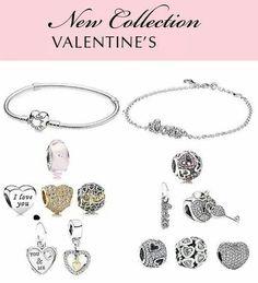 The whole 2015 Pandora Valentine's Day collection. Pretty awsome, right? #PANDORAvalentinescontest